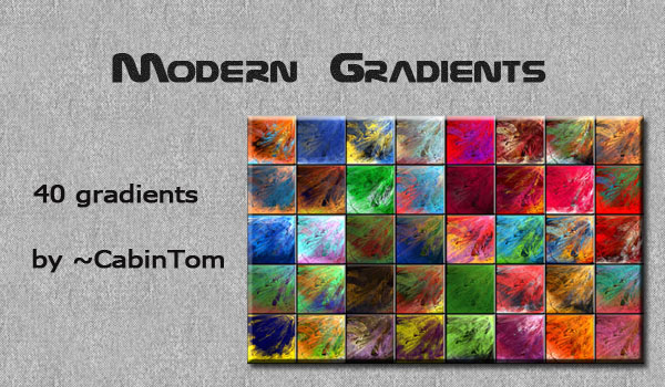 Modern Gradients