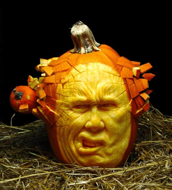 Pumpkin head 20+ Best Pumpkin Carving Pictures