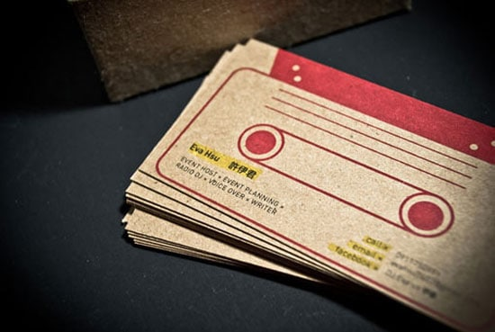 Radio DJ Business Card