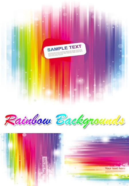 Vector Rainbow 25+ Rainbow Background Wallpapers