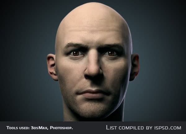 Vray Skin Study Breathtaking and Amazing 3D Portraits