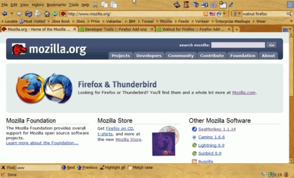 Walnut2 20 Top Firefox Skins for new browser