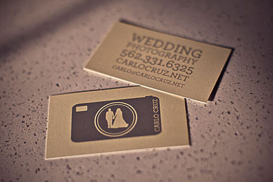 Wedding Photography 20+ Fresh Business Cards Designs