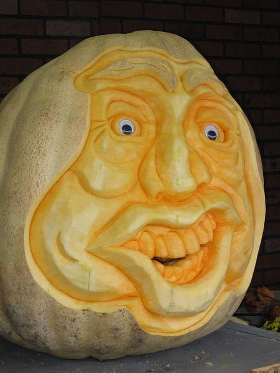 carved pumpkin 20+ Best Pumpkin Carving Pictures