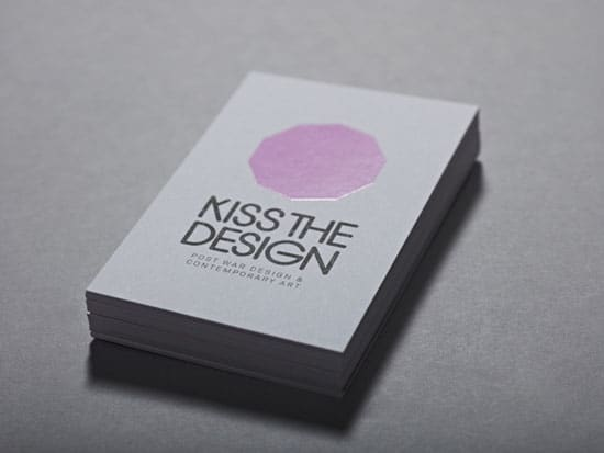 kiss the design 20+ Fresh Business Cards Designs
