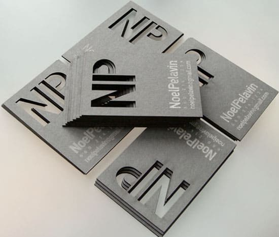laser cut 20+ Fresh Business Cards Designs