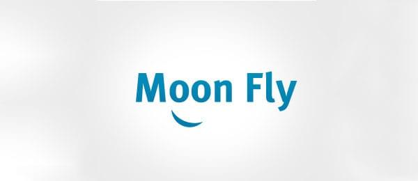 Moon Fly logo