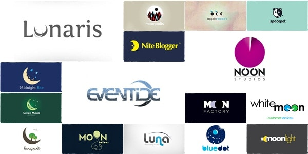 moon logo designs