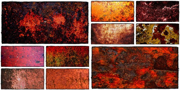 red rust texture backgrounds