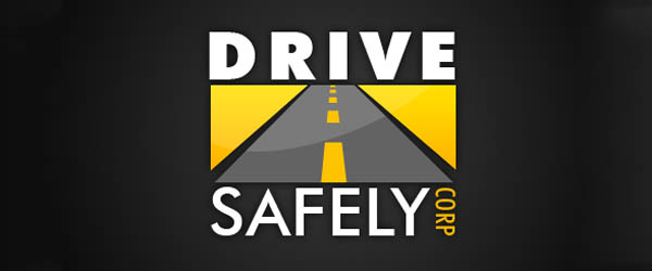 Safe driving logo