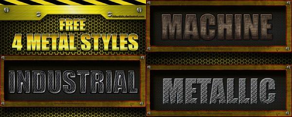 FREE Metal Styles