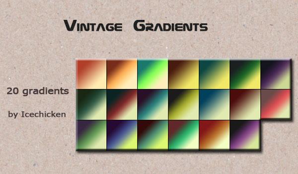 Vintage Gradients