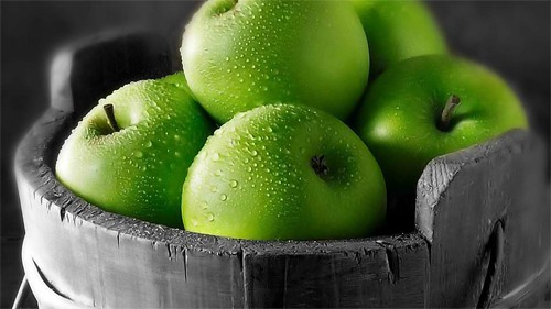 36 GreenApples 30+ Examples of Fruit Wallpaper Collections