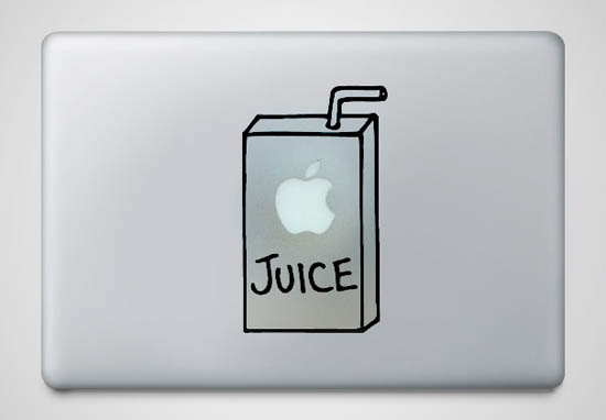 Apple-Juice-MacBook-Sticker