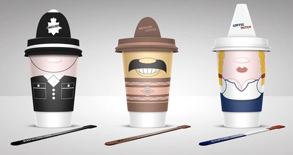 Coffee Cups 40+ Brilliant Concept Package Designs