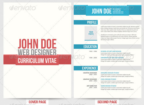 Designer Resume 30 Modern and Professional Resume Templates