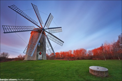 Grist Mill 500x333 50 Inspiring Windmill Pictures