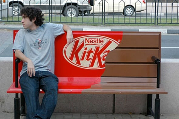 Kitkat 35+ Print Advertisements Which Will Make You Laugh