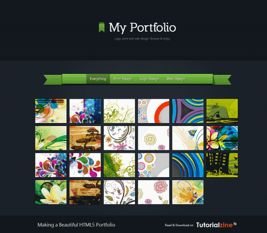 Making a Beautiful HTML5 Portfolio