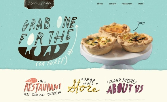Marie Catribs 30 Examples of Subtle Texture Overlay in Web Design