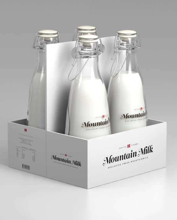 Milk package 1 40+ Brilliant Concept Package Designs