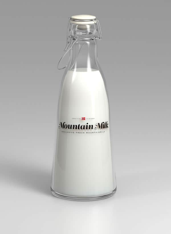 Milk package 2 40+ Brilliant Concept Package Designs