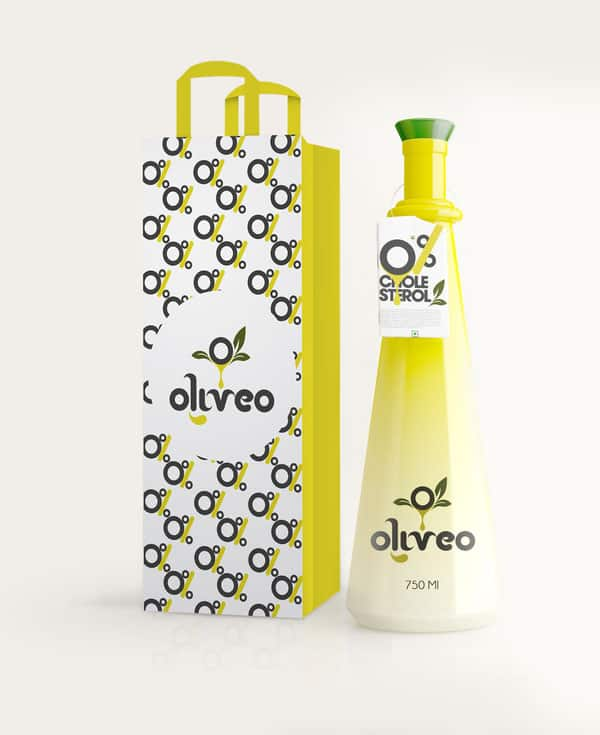 Oliveo Olive Oil 40+ Brilliant Concept Package Designs