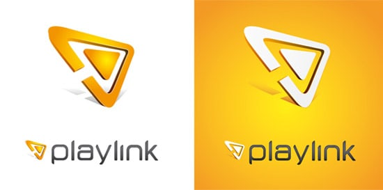 PL logotype 35+ Amazing Typography Based Logo Designs