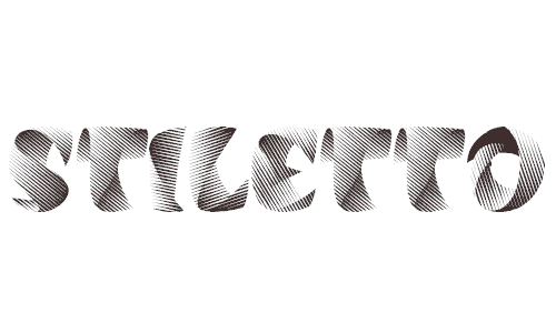 Stiletto font 40+ Free Striped Fonts
