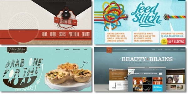 Texture Use in Web Design