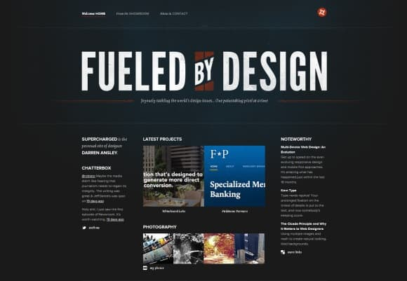 Supercharged 30 Examples of Subtle Texture Overlay in Web Design