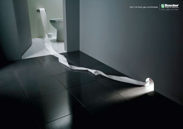 Toilet 35+ Print Advertisements Which Will Make You Laugh