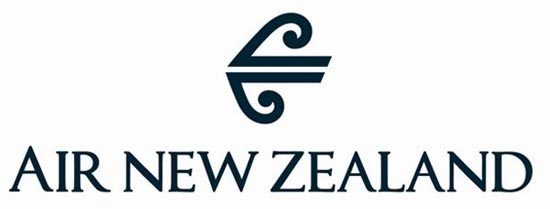 air new zealand logo2 40+ Airline Logo Inspirations