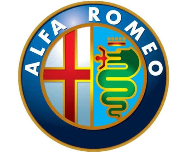 alfa romeo 50 Circular Logos Of Big Brands