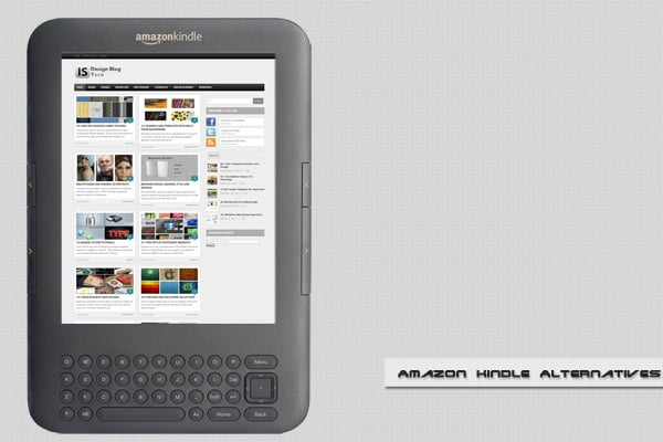amazon Kindle alternative 3 Best Amazon Kindle Alternatives