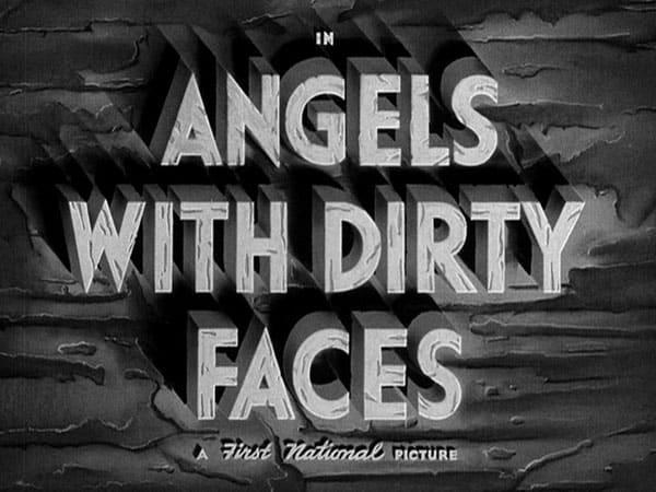 Movie title typography