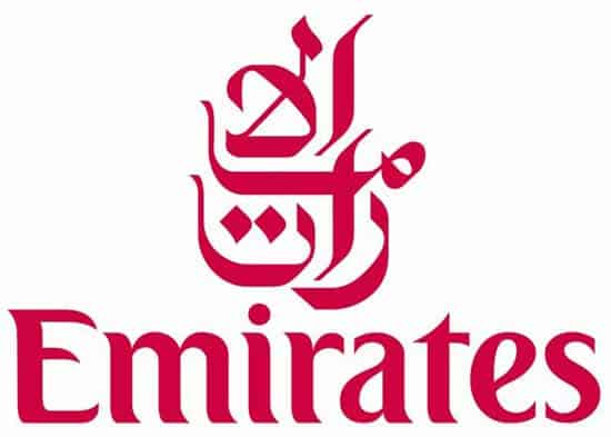 emirates logo2 40+ Airline Logo Inspirations