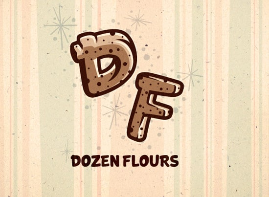 flavors 35+ Amazing Typography Based Logo Designs