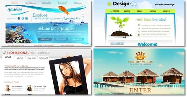 free flash templates 20 Free Flash Website Templates For Download