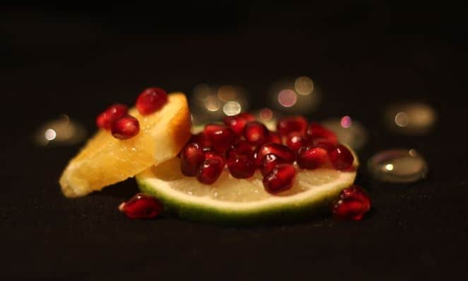 fruit bokeh