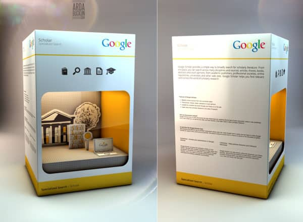 google 2 40+ Brilliant Concept Package Designs