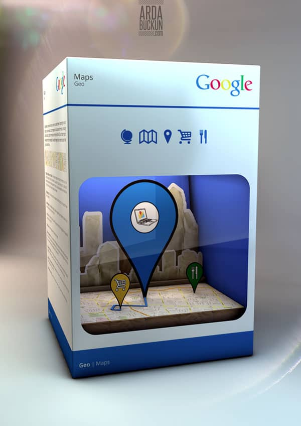 google 3 40+ Brilliant Concept Package Designs