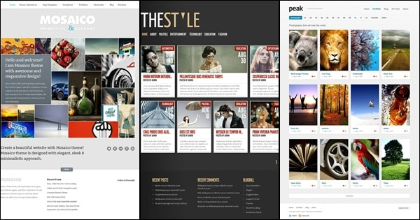 50 Amazing WordPress Grid Themes