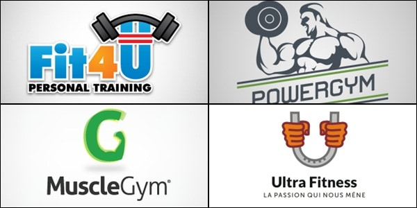 Gym and Fitness Inspired Logos