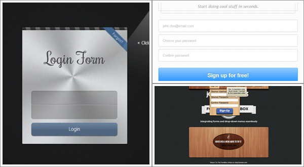 login form tutorial 30 Useful HTML5 and CSS3 Forms Tutorials