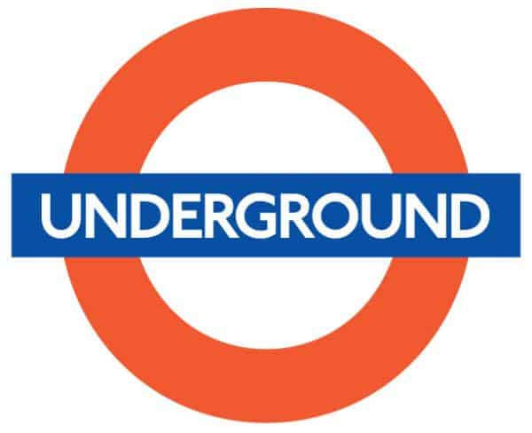london underground 50 Circular Logos Of Big Brands