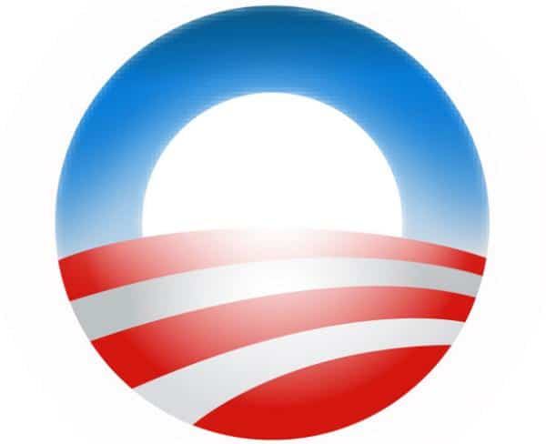 obama 08 50 Circular Logos Of Big Brands