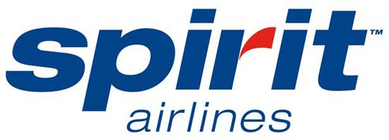 spirit1 40+ Airline Logo Inspirations