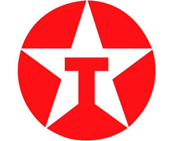 texaco 50 Circular Logos Of Big Brands