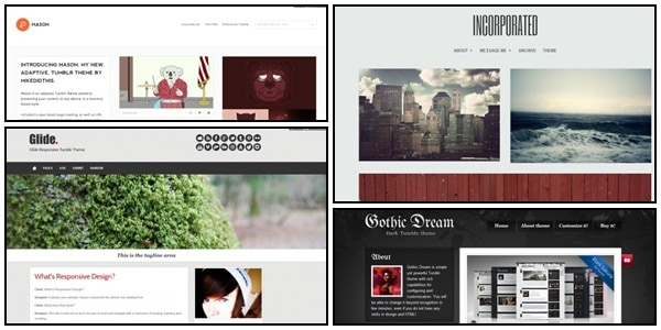 tumblr themes 45 Amazing Premium Tumblr Themes